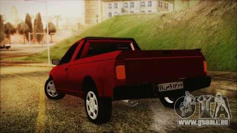 Ikco Arisun pour GTA San Andreas laissé vue