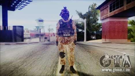 MW2 Russian Airborne Troop Desert Camo v4 für GTA San Andreas zweiten Screenshot