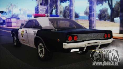Police Car R.P.D. from RE 3 Nemesis für GTA San Andreas linke Ansicht