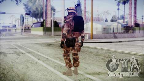 Chinese Army Desert Camo 4 für GTA San Andreas dritten Screenshot
