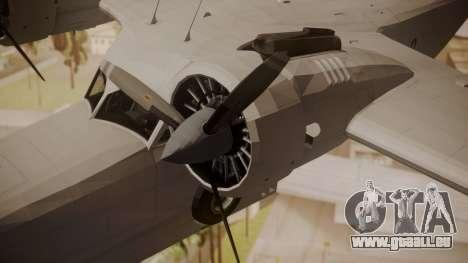 Grumman G-21 Goose Paintkit pour GTA San Andreas vue de droite