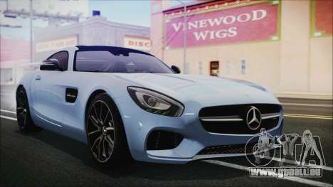 Mercedes-Benz AMG GT 2016 für GTA San Andreas