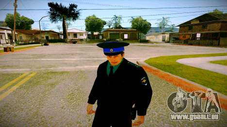 L'employé du Ministère de la Justice v3 pour GTA San Andreas