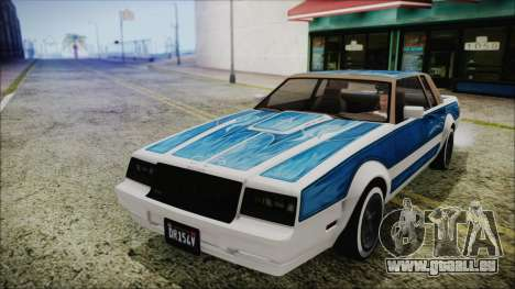 GTA 5 Willard Faction Custom für GTA San Andreas rechten Ansicht