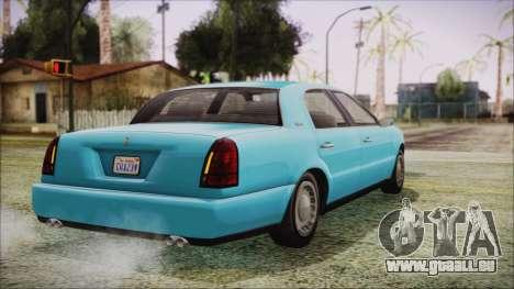 GTA 5 Albany Washington für GTA San Andreas linke Ansicht