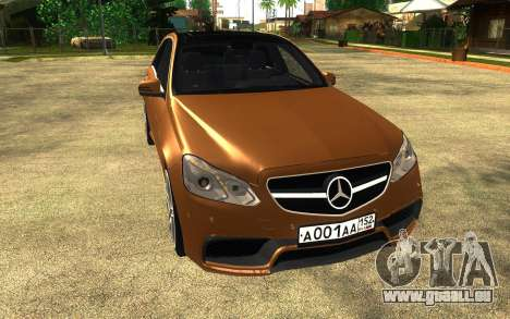 Mercedes Benz E63 AMG pour GTA San Andreas