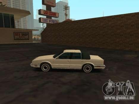 Chrysler New Yorker 1988 pour GTA San Andreas laissé vue