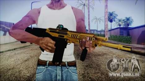 Bushmaster ACR Gold für GTA San Andreas dritten Screenshot
