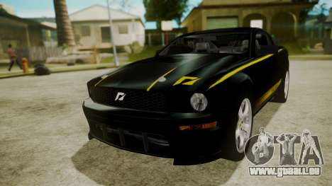 Ford Mustang Shelby Terlingua pour GTA San Andreas