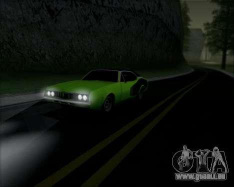 Clover Barracuda für GTA San Andreas zurück linke Ansicht