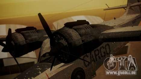 Grumman G-21 Goose N56621 Rusty für GTA San Andreas rechten Ansicht