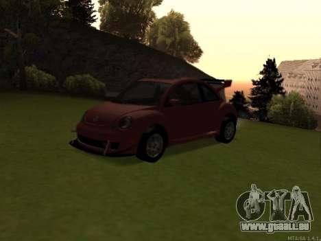 VW New Beetle 2004 Tunable für GTA San Andreas Rückansicht