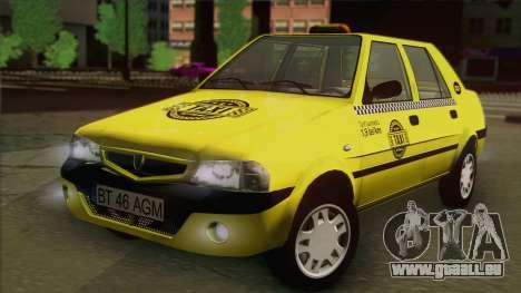 Dacia Solenza Taxi für GTA San Andreas