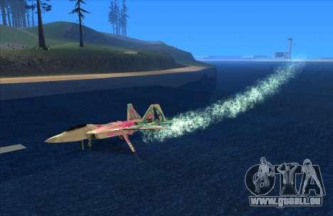 Water Effect pour GTA San Andreas troisième écran