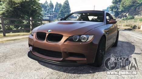 BMW M3 (E92) GTS v0.1 für GTA 5