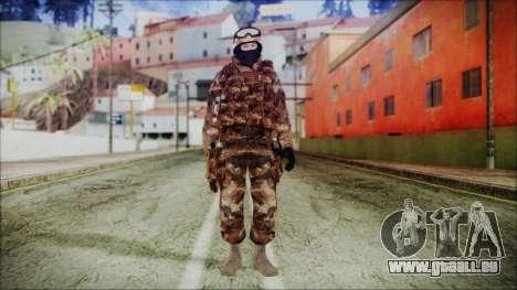 Chinese Army Desert Camo 4 für GTA San Andreas zweiten Screenshot