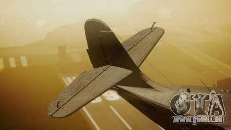Grumman G-21 Goose N56621 Rusty für GTA San Andreas zurück linke Ansicht