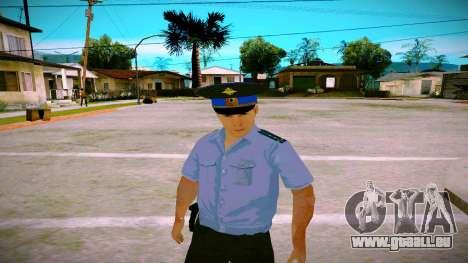 L'employé du Ministère de la Justice v2 pour GTA San Andreas