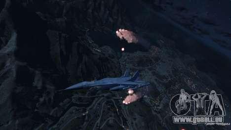 Les pièges à chaleur pour Lazer pour GTA 5