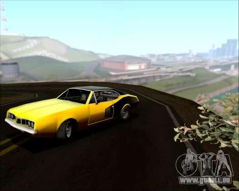 Clover Barracuda für GTA San Andreas Seitenansicht