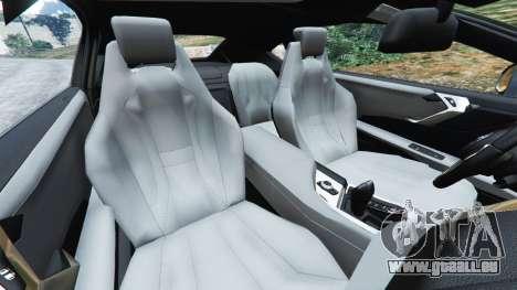 GTA 5 BMW i8 2015 droite vue latérale