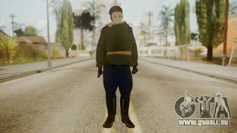 Red Army Cossack - WW2 für GTA San Andreas zweiten Screenshot