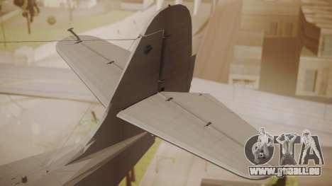 Grumman G-21 Goose Paintkit pour GTA San Andreas sur la vue arrière gauche