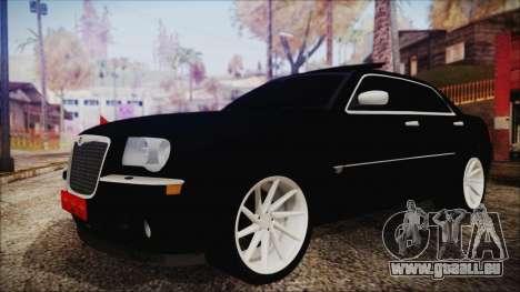 Chrysler 300С Unalturan für GTA San Andreas zurück linke Ansicht