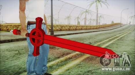 Demon Blood Sword from Adventure Time pour GTA San Andreas troisième écran
