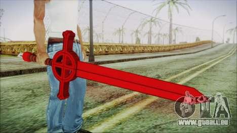 Demon Blood Sword from Adventure Time pour GTA San Andreas troisième écran