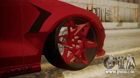 Audi RS7 X-UK L3D pour GTA San Andreas sur la vue arrière gauche