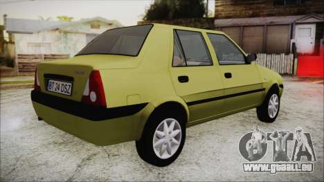 Dacia Solenza pour GTA San Andreas laissé vue