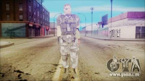 MGSV Phantom Pain Snake Normal Square für GTA San Andreas zweiten Screenshot