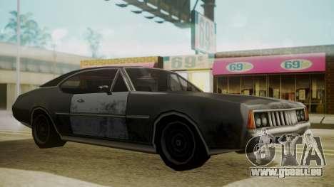 Clover FnF Skin pour GTA San Andreas sur la vue arrière gauche