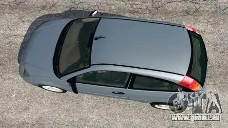 Ford Focus SVT Mk1 pour GTA 5