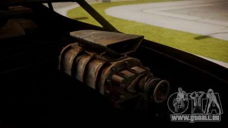Ford Falcon Coupe XB GT 1973 Max Interceptor für GTA San Andreas zurück linke Ansicht