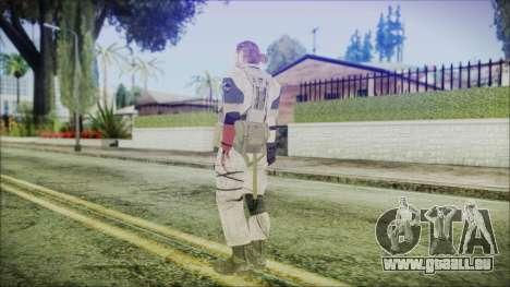 MGSV Phantom Pain Snake Normal Desert für GTA San Andreas dritten Screenshot