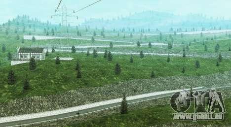 Stelvio Pass Drift Track pour GTA San Andreas troisième écran