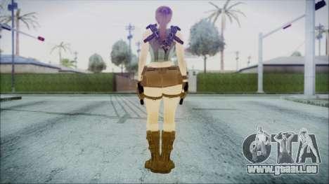 Lara v1 pour GTA San Andreas troisième écran
