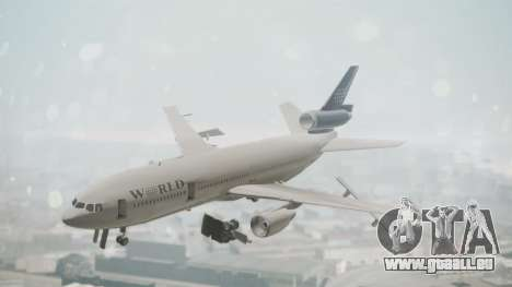 DC-10-30 World Airways (Blue Tail) pour GTA San Andreas