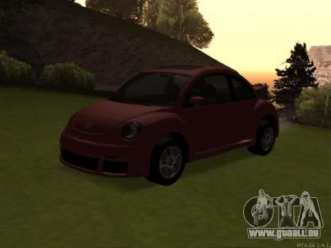 VW New Beetle 2004 Tunable für GTA San Andreas Innenansicht