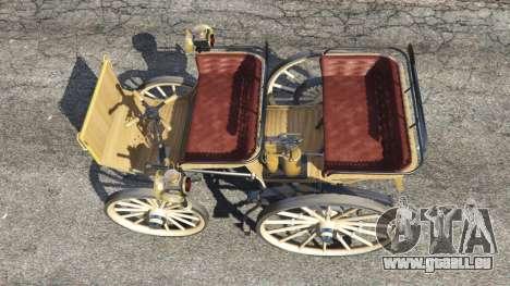 GTA 5 Daimler 1886 [wood] Rückansicht