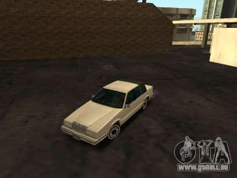 Chrysler New Yorker 1988 pour GTA San Andreas vue de côté