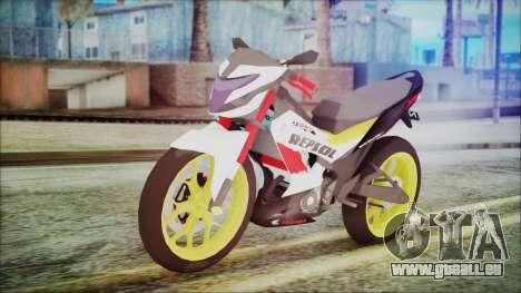 Honda Sonic 150R AntiCacing pour GTA San Andreas