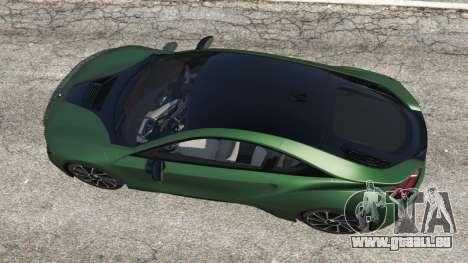 GTA 5 BMW i8 2015 vue arrière