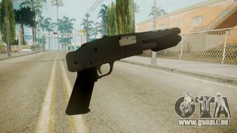 GTA 5 Sawnoff Shotgun für GTA San Andreas dritten Screenshot