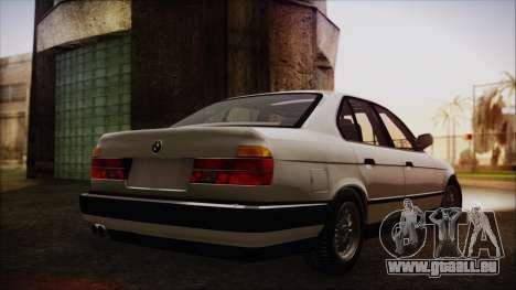 BMW 7-er E32 Stock pour GTA San Andreas laissé vue