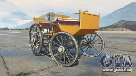 GTA 5 Daimler 1886 [colors] rechte Seitenansicht