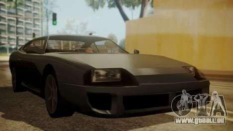 Jester FnF Skin 2 pour GTA San Andreas vue arrière