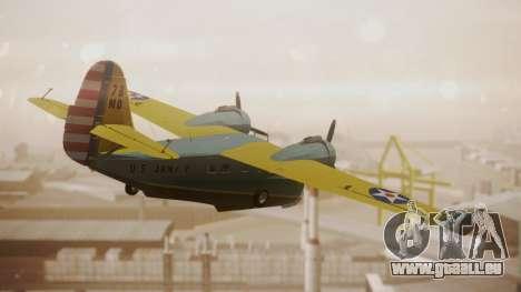Grumman G-21 Goose N130FB pour GTA San Andreas laissé vue